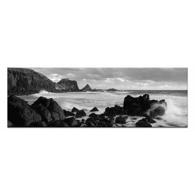 Artist Lane Pyramid Rocks by Andrew Brown Photographic Print Wrapped on Canvas in Black/White