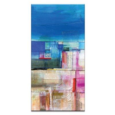 Artist Lane Dream Passage No.1 by Kathy Morton Stanion Art Print Wrapped on Canvas