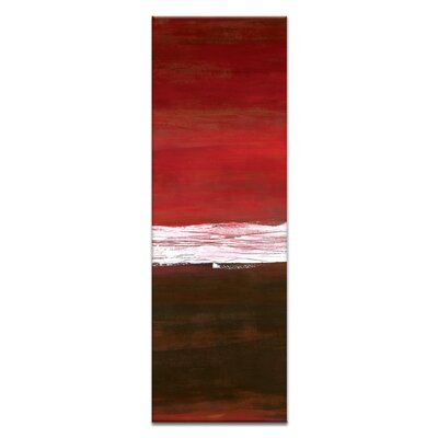 Artist Lane White Line Vertical 2 by Teresa Ventura Art Print on Canvas
