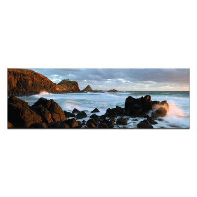 Artist Lane Pyramid Rocks by Andrew Brown Photographic Print Wrapped on Canvas