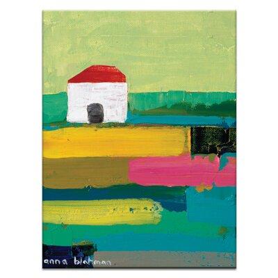 Artist Lane Rural by Anna Blatman Art Print Wrapped on Canvas