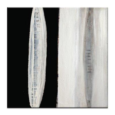 Artist Lane Chiaroscuro 4 by Katherine Boland Art Print Wrapped on Canvas in Black/White