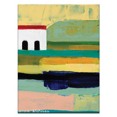 Artist Lane Rustic by Anna Blatman Art Print Wrapped on Canvas