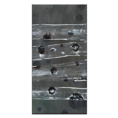 Artist Lane Black Holes and Other Dark Matter #1 by Katherine Boland Art Print Wrapped on Canvas in Grey/Black