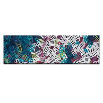 Artist Lane Commotion by Patricia Baliviera Graphic Art Wrapped on Canvas