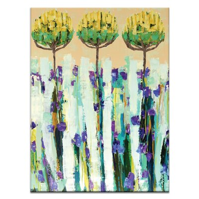 Artist Lane Olive Trees by Anna Blatman Art Print on Canvas