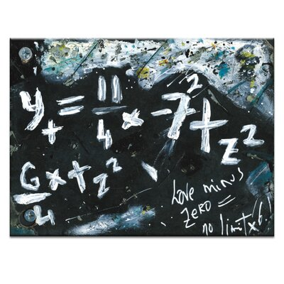 Artist Lane And God Said To Me by Zoltan Koteczky Art Print on Canvas