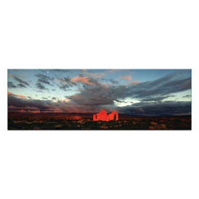Artist Lane The Statio by Andrew Brown Photographic Print on Canvas in Orange