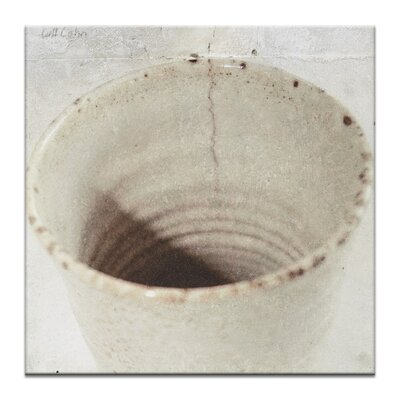 Artist Lane Zen Cup by Gill Cohn Photographic Print Wrapped on Canvas