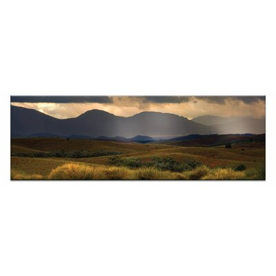 Artist Lane The Poun by Andrew Brown Photographic Print on Canvas in Orange