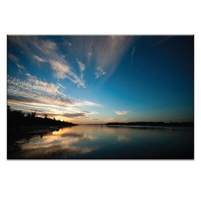 Artist Lane Eventide by Caroline Gorka Photographic Print Wrapped on Canvas