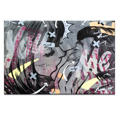 Artist Lane And Only by Dan Monteavaro Graphic Art Wrapped on Canvas