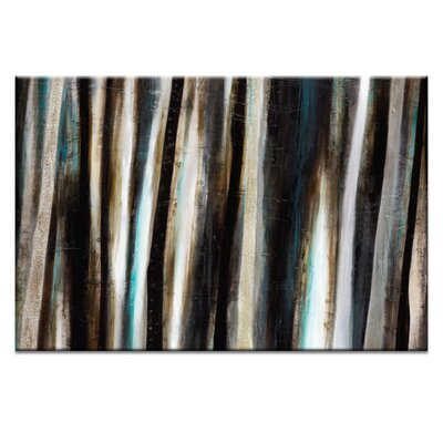 Artist Lane Treeline #6 by Katherine Boland Art Print on Canvas