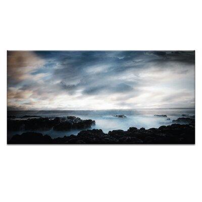 Artist Lane Last Light by Caroline Gorka Photographic Print Wrapped on Canvas