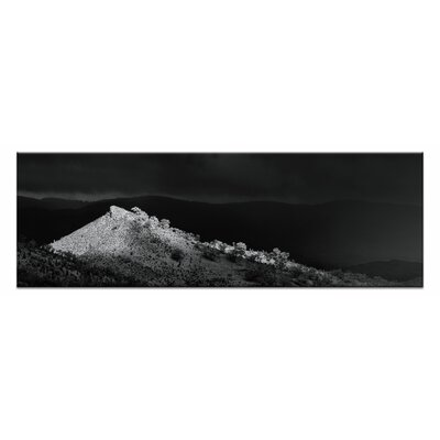 Artist Lane Rainshado by Andrew Brown Photographic Print on Canvas in Black
