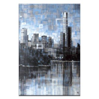 Artist Lane Lake View III by Jennifer Webb Art Print Wrapped on Canvas