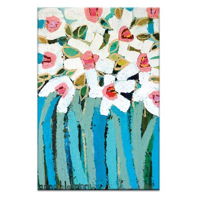 Artist Lane Blue Stems by Anna Blatman Art Print on Canvas