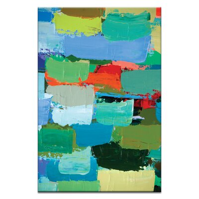 Artist Lane Spring by Anna Blatman Art Print Wrapped on Canvas