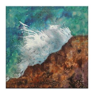 Artist Lane Splash by Jennifer Webb Art Print Wrapped on Canvas