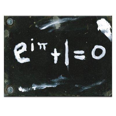 Artist Lane The Most Beautifl Eulers / Identity Formula by Zoltan Koteczky Art Print on Canvas