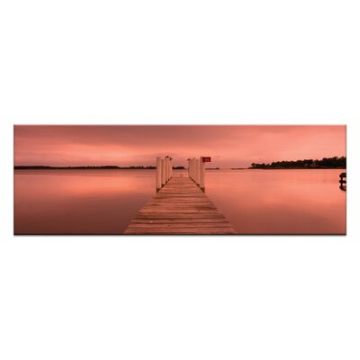 Artist Lane Peaceful Pier by Andrew Brown Photographic Print Wrapped on Canvas