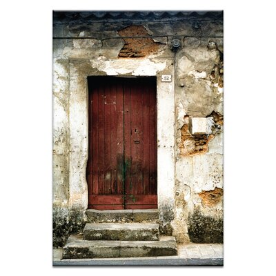 Artist Lane Doors of Italy - Rustico by Joe Vittorio Photographic Print Wrapped on Canvas