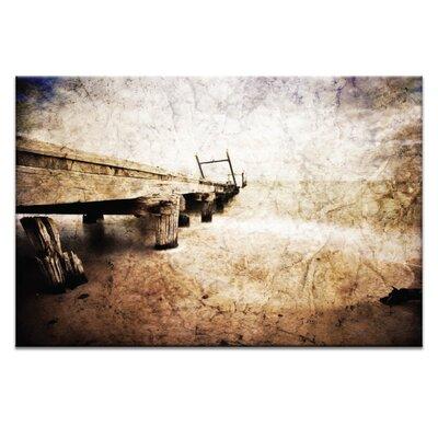Artist Lane Grantville Pier by Caroline Gorka Graphic Art on Canvas