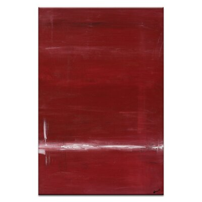 Artist Lane Red by Patricia Baliviera Art Print Wrapped on Canvas