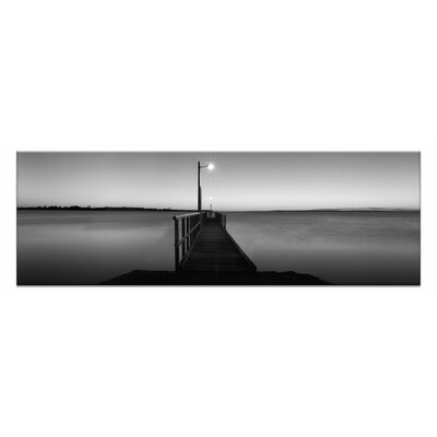Artist Lane Afterglow by Andrew Brown Photographic Print Wrapped on Canvas in Black/White