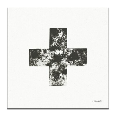 Artist Lane PLUS by Steve Leadbeater Graphic Art Wrapped on Canvas in Black/White