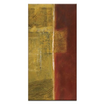 Artist Lane Boundary 1 by Teresa Ventura Art Print Wrapped on Canvas