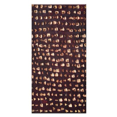 Artist Lane Ad Infinitum #11 by Katherine Boland Graphic Art Wrapped on Canvas in Brown
