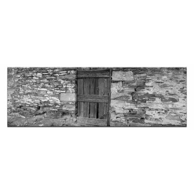 Artist Lane Stone Fenc by Andrew Brown Photographic Print on Canvas in Black