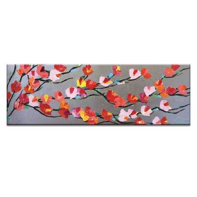Artist Lane Long Silver Magnolia by Anna Blatman Art Print Wrapped on Canvas