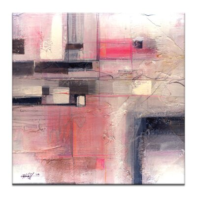 Artist Lane Serene Abstraction No.1 by Kathy Morton Stanion Art Print Wrapped on Canvas