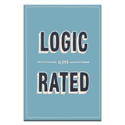 Artist Lane Logic by Steve Leadbeater Typography Wrapped on Canvas