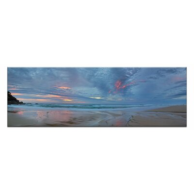 Artist Lane Sunrise Beach by Andrew Brown Photographic Print on Canvas in Blue