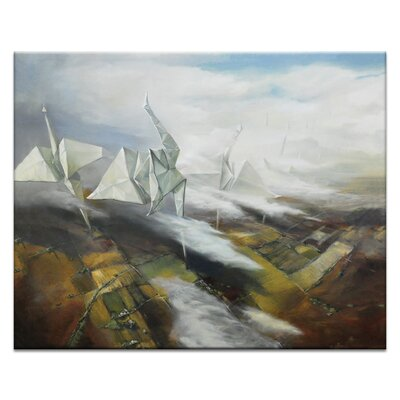 Artist Lane Gone_with_the_Wind by Olena Kosenko Art Print Wrapped on Canvas