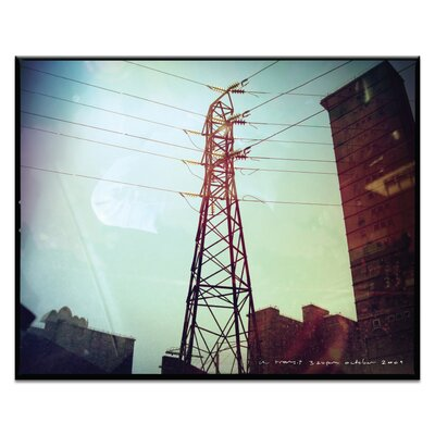 Artist Lane 3.24 pm by Steve Leadbeater Photographic Print Wrapped on Canvas
