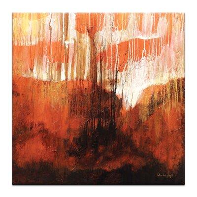Artist Lane Radiance by John Louis Lioyd Art Print Wrapped on Canvas