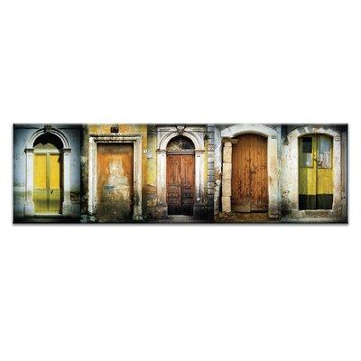 Artist Lane Doors of Italy - Le Porte Gialle by Joe Vittorio Photographic Print on Canvas