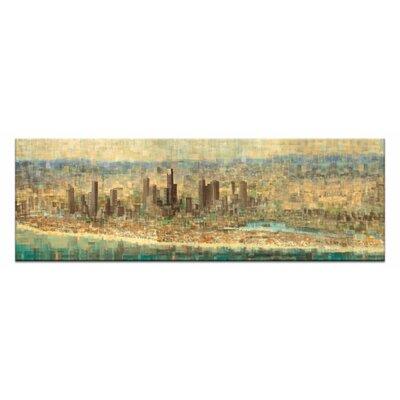 Artist Lane River, Ocean, Lake by Jennifer Webb Art Print Wrapped on Canvas