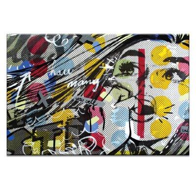 Artist Lane Gasp by Dan Monteavaro Graphic Art Wrapped on Canvas