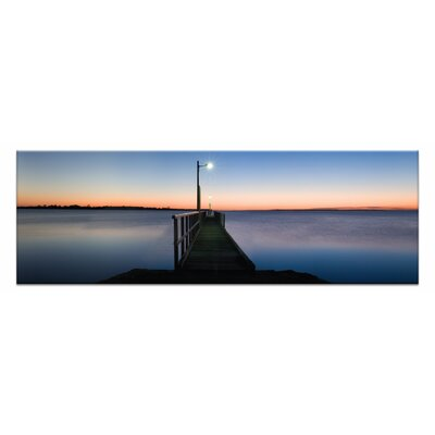 Artist Lane Afterglow by Andrew Brown Photographic Print Wrapped on Canvas