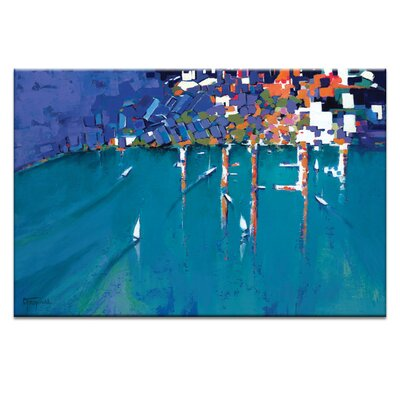 Artist Lane That's Life by Catherine Fitzgerald Art Print Wrapped on Canvas