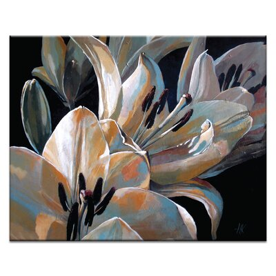 Artist Lane Lilies by Olena Kosenko Graphic Art Wrapped on Canvas