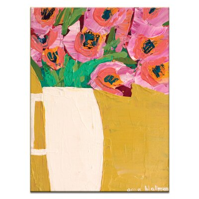 Artist Lane Jug by Anna Blatman Art Print Wrapped on Canvas