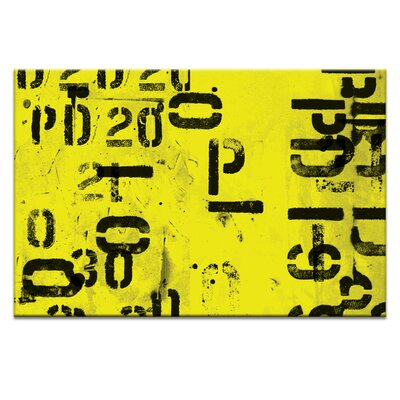 Artist Lane Code by Ayarti Typography on Canvas in Black