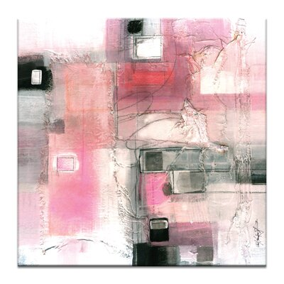 Artist Lane Serene Abstraction No.2 by Kathy Morton Stanion Art Print Wrapped on Canvas