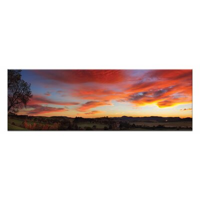 Artist Lane Autumn Fire by Andrew Brown Photographic Print Wrapped on Canvas